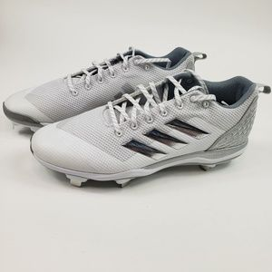 Adidas Power Alley 5 Men Low Metal Baseball Cleats